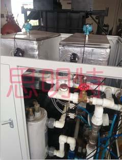 不锈钢卡压件冷热水循环试验
