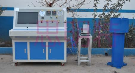 呼吸气瓶水压检测装置