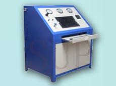 铜质散热器、铝质散热器、中冷器、机油冷却器、蒸发器和冷凝器爆破试验台