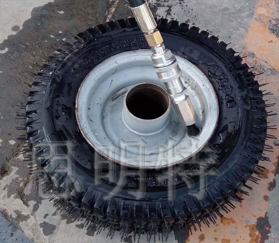 轮胎水压爆破试验测试