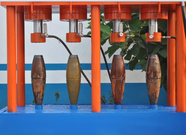 炮弹、火箭筒体水压试验机