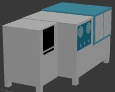 涡轮叶片流量试验器