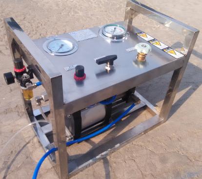 气驱动试压泵