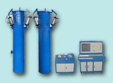 气瓶外测法水压试验机